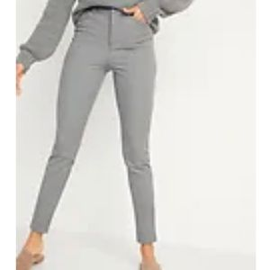 Old Navy High-Waisted Pixie Full-Length Pants 6P